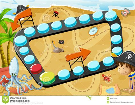 themes games com beach board game stock illustration illustration of play