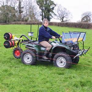 atv machine atv winder the world s best selling electric fencing machine