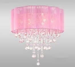 pink in chandelier pink drum shade ceiling chandelier pendant light
