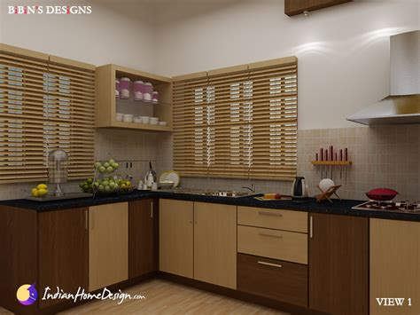 home kitchen design india modular kitchen design by bibin balan