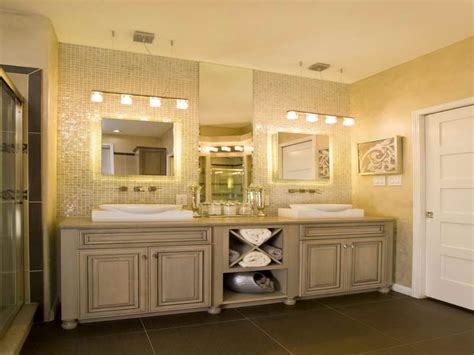 Bathroom Cabinets With Lights How To Choose The Right Bathroom Vanity Lighting Home Designs Project