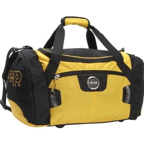 Jeep Bags All Things Jeep Jeep 20 Quot Duffel Bag Ravine Line Yellow