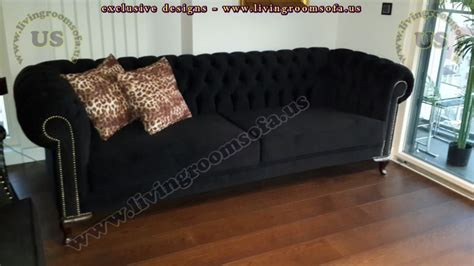 black fabric chesterfield sofa chesterfield sofa black paxton black leather chesterfield