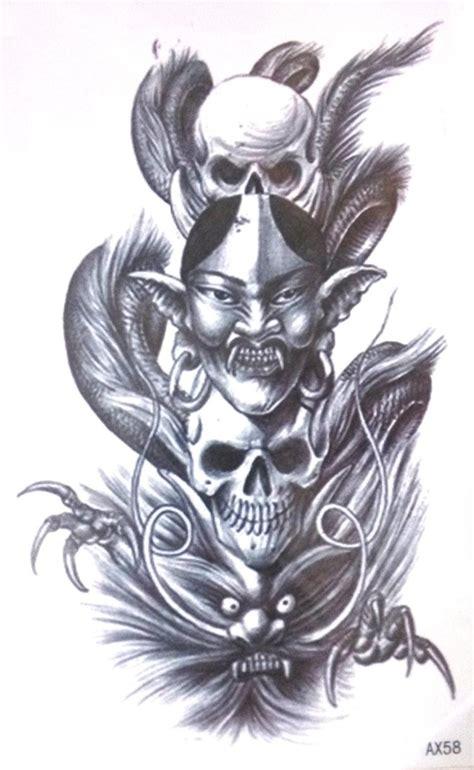evil skull tattoos popular evil skulls tattoos buy cheap evil skulls tattoos