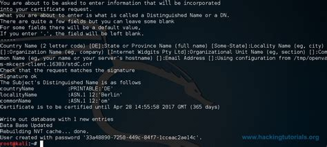 kali linux 2 0 openvas tutorial installing openvas on kali linux hacking tutorials