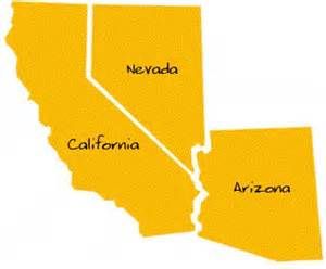 california nevada arizona map caade colleges and universities in ca az nv caade