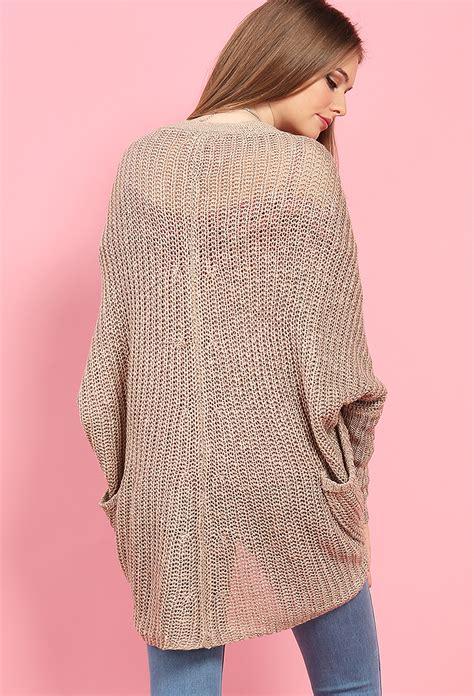 knit draped cardigan draped open knit cardigan shop clothing at papaya clothing