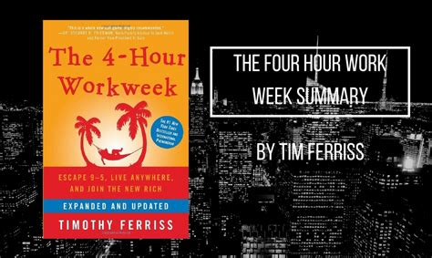 4 Hour Work Week Summary Buy Or Not To Buy You Are