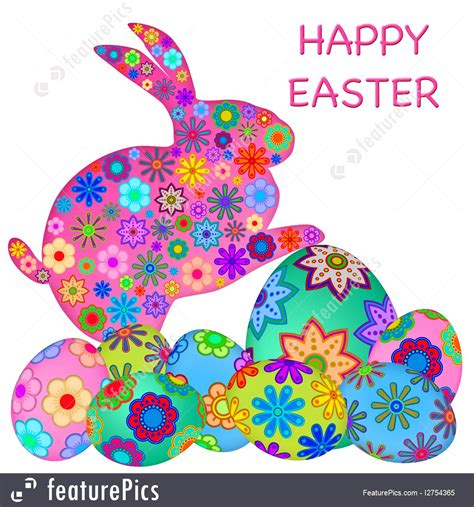 Touch The Happy Bunny With Lapis by Image Of Happy Easter Bunny Rabbit With Colorful Eggs