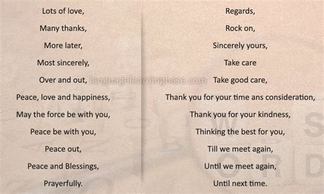 Ways To A Letter