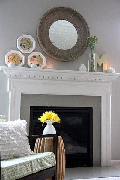fireplace mantel mirrors fireplace mirror and mantel home decorating idea