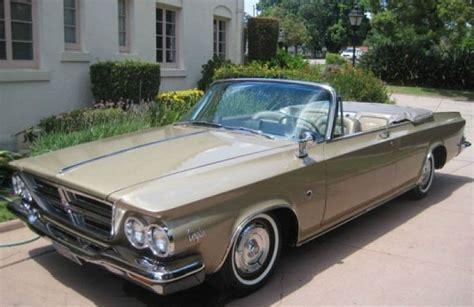 chrysler 300k 1964 chrysler 300k convertible ebay motors