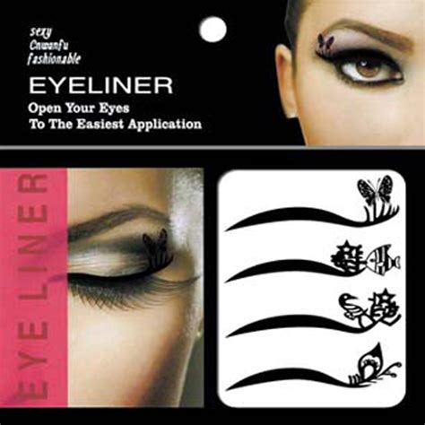 New Eyeliner Tempel Eyeliner Sticker Sticker Eyeliner Eyeliner eyeshadow stickers makeup promotion shop for promotional