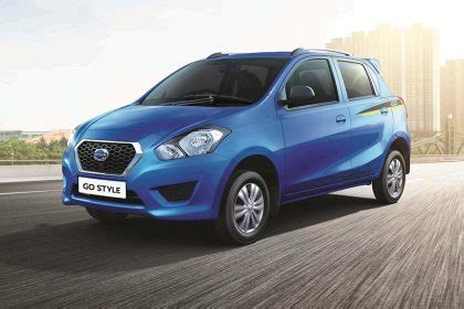 Lu Datsun Go india datsun go and go style limited edition launched