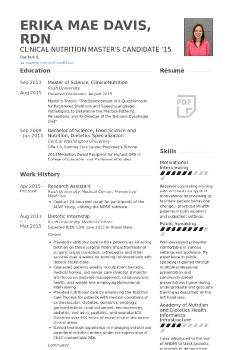 Resume Template For Research Assistant Research Assistant Resume Sles Visualcv Resume Sles Database