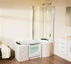badewanne mit einstieg saniku sanikuduo 170x75cm rechts wanne badewanne mit
