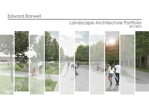 landscape page layout design landscape architecture portfolio by ed barwell issuu