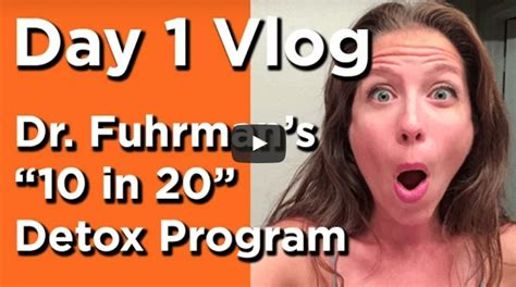 Dr Fuhrman Detox Symptoms by Food Diary Weight Loss The Watering