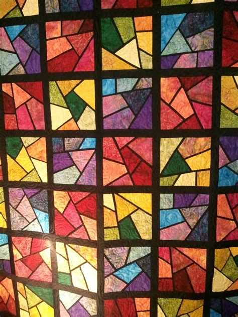 Stained Glass Quilt by Pin By Lindakay Pardee On Stained Glass Window Quilts