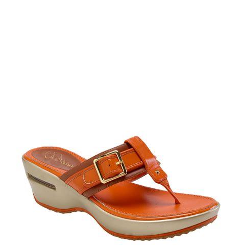 cole haan sandals cole haan air maddy sandal in brown woodbury brown