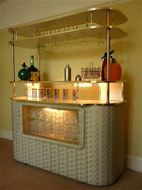 vintage cocktail bar home drinks cabinet retro 50 s 60 s