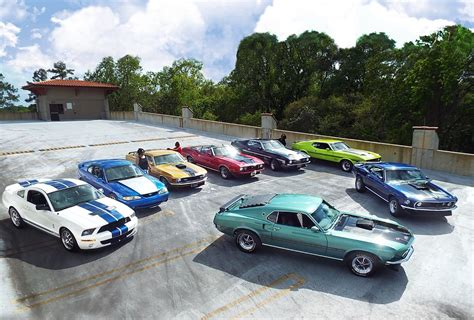mustang car collection for speed collection of classic mustangs ignited