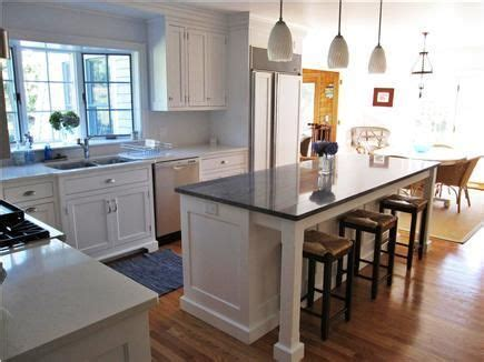 mobile kitchen islands with seating   Google Search