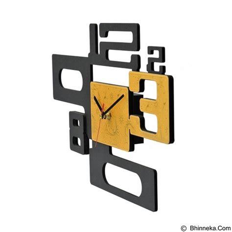 Jam Dinding Kanji By Tik Tok Box jual tik tok box jam dinding 8 gold murah bhinneka
