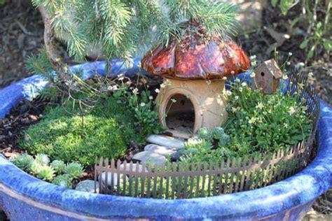 inspiration   cottage fairy garden diy