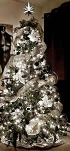 best 25 silver christmas tree ideas on pinterest