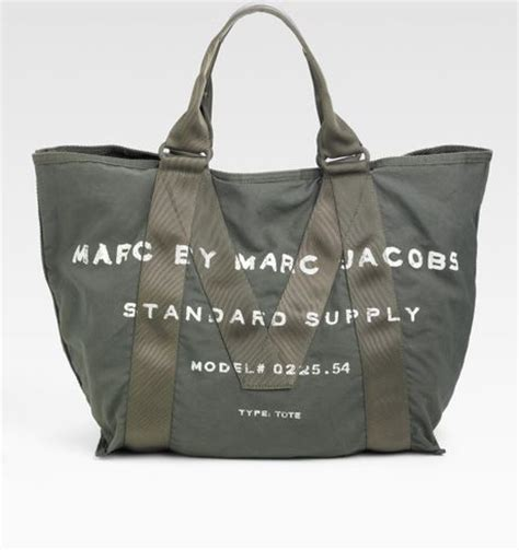 Marc By Marc Standard Supply Tote by Marc By Marc New Standard Supply Canvas Tote In