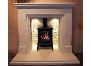 woodburning stove with fireplace lighting light it up