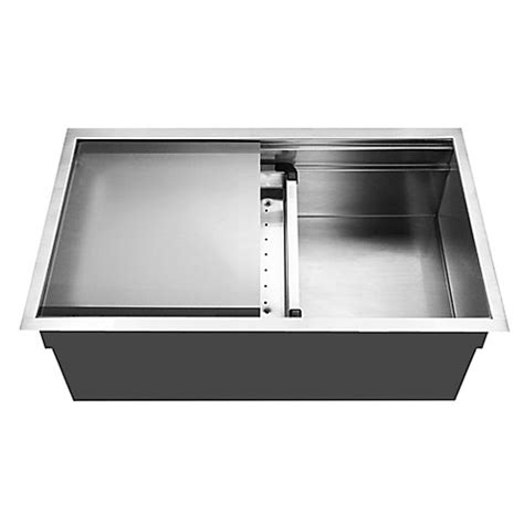 buy plastic kitchen sinks from bed bath beyond buy houzer nvs 5200 novus series undermount dual level