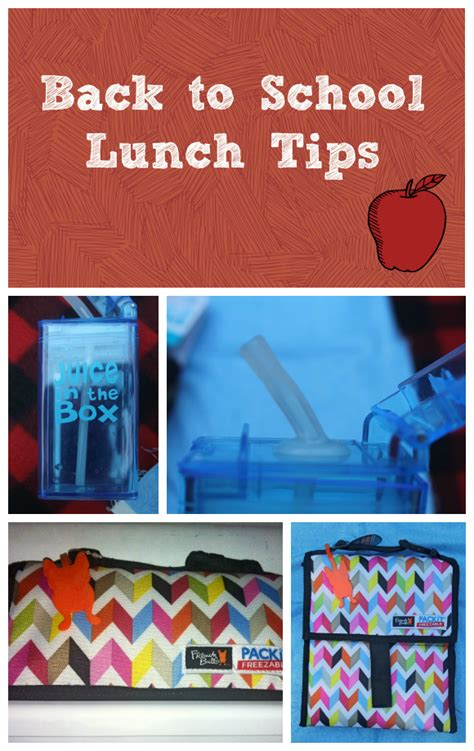 5 tips to make back to school lunches easier pretty