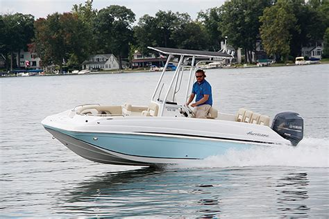 hurricane boats apparel cc 19 ob center console hurricane deck boats