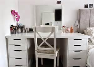 Ikea Pr Vanity E H My Makeup Desk Storage And Organisation