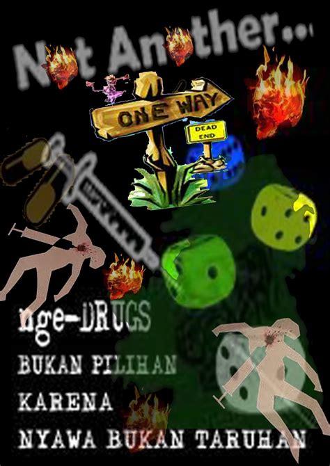 membuat yel yel anti narkoba membuat poster bahasa inggris contoh kalimat poster anti