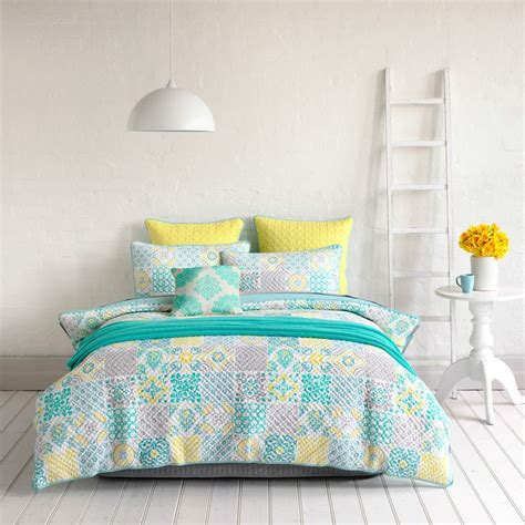 Mercer Quilt Covers by Mercer Cadiz Bedroom Quilt Covers Coverlets