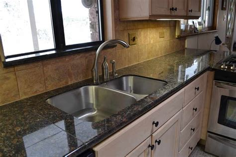 Kitchen Granite Tile Countertops by Brown Granite Granite Tile Countertop For Kitchen