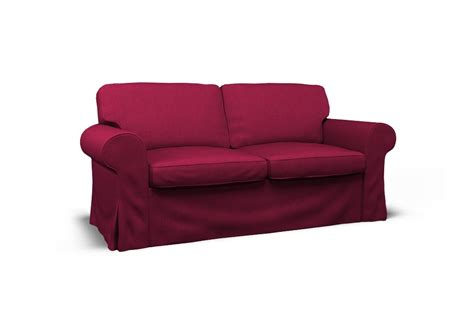 two seat sofas ektorp two seat sofa cover boss rose by covercouch com