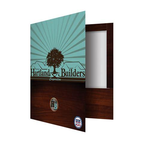 How To Make A Folder Out Of Construction Paper - top reinforced 2 pocket presentation folder on behance