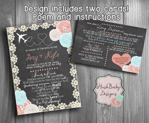 Distance Baby Shower Invitations by 25 Best Ideas About Distance Wedding On