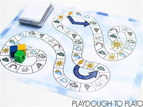 printable games weather free printable weather game playdough to plato