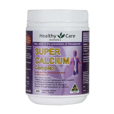 Healthy Care Calsium 400 Capsule calcium vitamin d 400 tablets healthy care health supplements