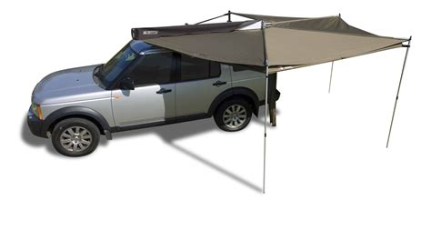 awnings for vehicles rhino rack foxwing 2 5 vehicle awning adventure ready