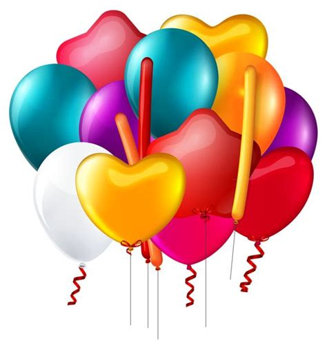birthday balloons clip balloons bunch transparent png clip image