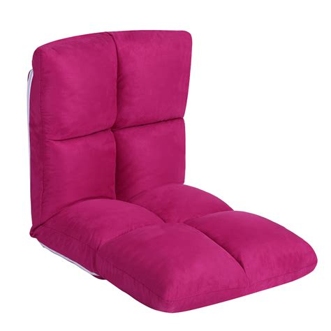 floor sitting chair relaxation adjustable floor sitting chair faux suede home