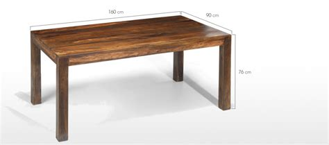 Dining Table Measurements In Cm Cube Sheesham 160 Cm Dining Table And 4 Chairs Quercus
