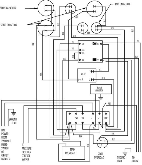 3 wire submersible well wiring diagram