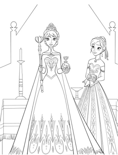 elsa and anna halloween coloring pages elsa and anna coloring pages 481476